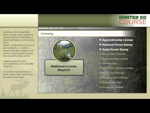 Hunter safety course virginia hunting license rules & regulations - hunteredcourse.com
