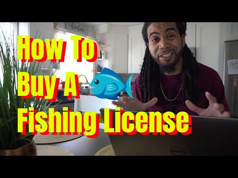 How to buy a fishing license online