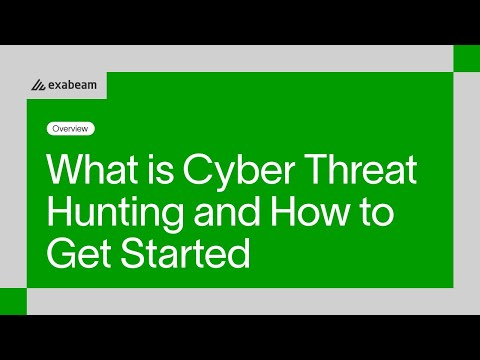 What is cyber threat hunting and how to get started