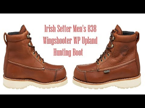 Irish setter men's 838 wingshooter wp upland hunting boot | best upland hunting boots