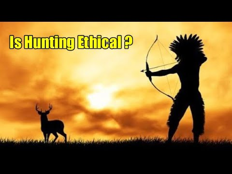 Is hunting ethical? video essay from a hunter and wildlife photographer