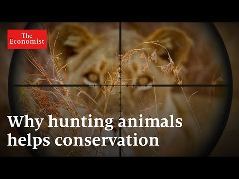 Why trophy hunting helps protect animals | the economist