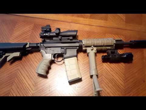 My ar15 and ethical hunting