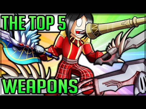 The top 5 weapons in monster hunter world! (is your main weapon the best!?)
