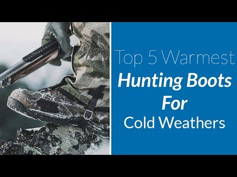 The 5 warmest hunting boots for cold weathers [guide & reviews]