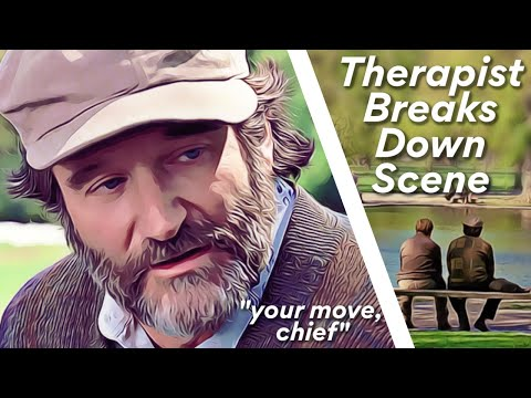 Good will hunting 'bench scene' analysis   explained by professional therapist (ep2)