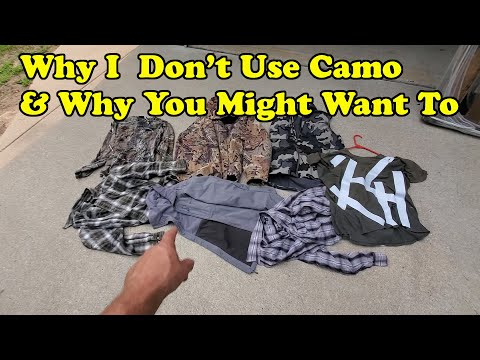 Why i don't wear camo and why you might want to! and some camo testing!