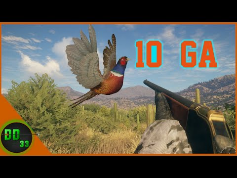 The ultimate way to pheasant hunt! call of the wild