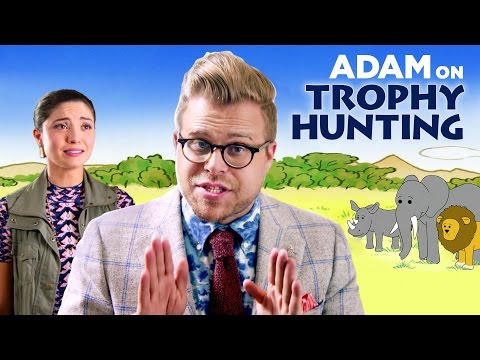 Why trophy hunting can be good for animals   adam ruins everything