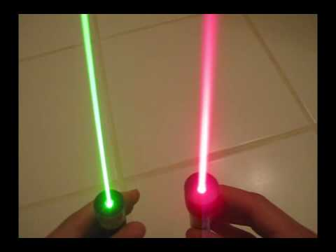 Green lasers vs. red lasers: which are better?