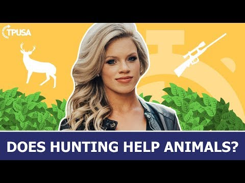 Kendall jones: why hunting helps animals