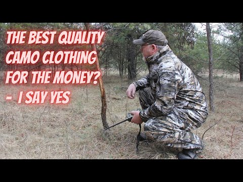 The best quality camo hunting clothing for the money?