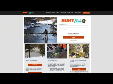 How to buy a pennsylvania fishing license, launch permit, and renew a boat registration online
